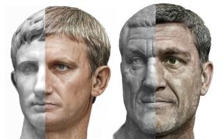 Împărații Augustus și Maximinus Thrax