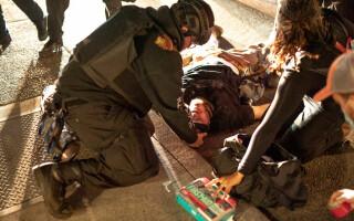 Ciocnire sângeroasă între protestatarii pro- şi anti-Trump, în Portland. Un bărbat a fost ucis