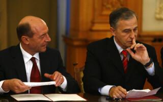 Traian Basescu si Mircea Geoana