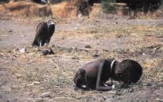 Fetita si vulturul