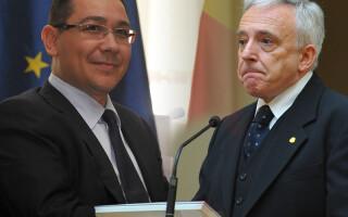 Victor Ponta, Mugur Isarescu