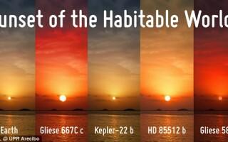 apus de soare pe exoplanetele locuibile