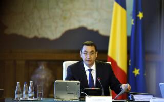Victor Ponta la Guvern