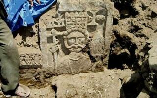 basorelief crestin descoperit in Yemen