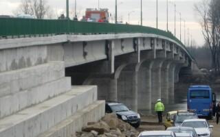 Banatul si Crisana, legate printr-un nou pod, inaugurat in