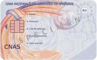 cardul national de sanatate