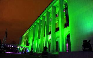 Palatul Victoria de culoare verde