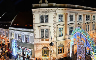 Sibiu, lumini, Craciun - 6