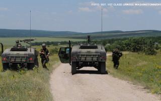 exercitiu militar american la Babadag