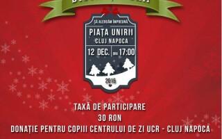 Miscare in scop caritabil. Clujenii au ocazia sa ajute peste 40 de copii orfani daca vor participa la Crosul lui Mos Craciun