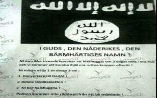 amenintare ISIS Suedia
