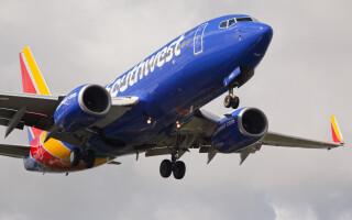 Southwest avion - Shutterstock