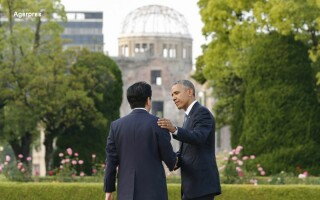 Shinzo Abe si Barack Obama
