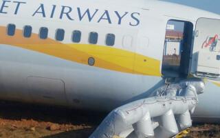 avion iesit de pe pista India - Agerpres