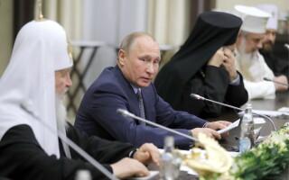 Patriarhul Daniel, Vladimir Putin şi Kiril