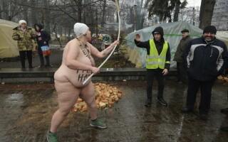 protest FEMEN Kiev