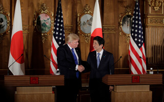 Shinzo Abe și Donald Trump