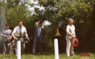 Ceausescu, Iliescu