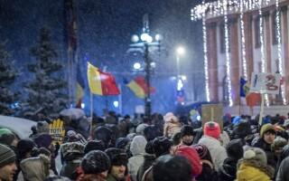 protest la Brasov impotriva modificarii legilor justitiei