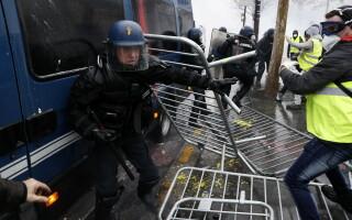 violente in Paris