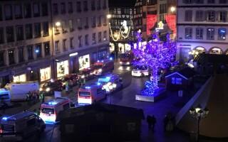 Atac armat în Strasbourg, în apropierea târgului de Crăciun