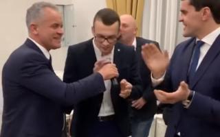 Vladimir Plahotniuc, petrecere