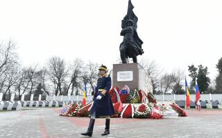 Monumentul Ostasului Sovietic de la Cimitirul Eroilor din Pipera.
