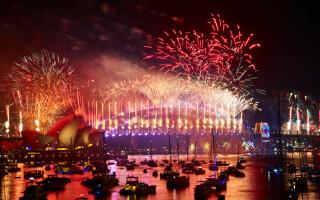 Revelion 2019. Foc de artificii spectaculos în Sydney
