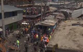 O clădire de șase etaje s-a prăbuit în Kenya
