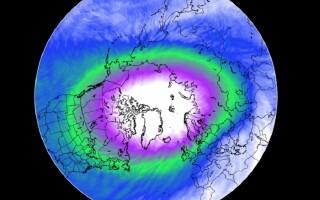 Vortexul polar se schimbă radical. Temperaturile ajung la un minim istoric