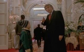 Donald Trump, singur acasa