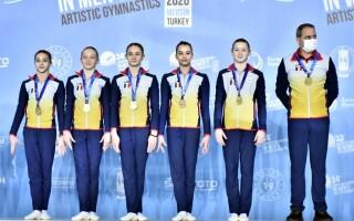 Medalie de argint pentru România la Campionatul European feminin de gimnastică artistică