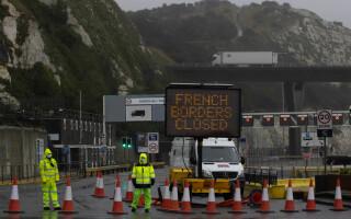 Franța a închis granița cu UK
