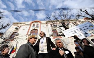 Protest cercetatori