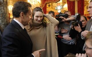 Carla Bruni si Nicolas Sarkozy