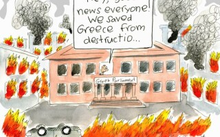 caricaturi Grecia