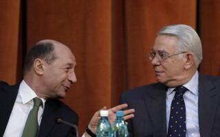 Teodor Melescanu si Traian Basescu