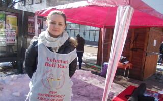Laura Bogdan - voluntar medicina
