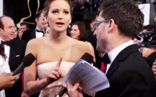 Jennifer Lawrence, interviu MTV, gala Oscar