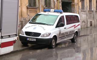 masina politia locala timisoara
