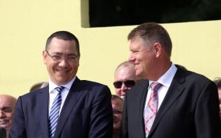 Victor Ponta, Klaus Iohannis