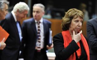 Catherine Ashton, la Consiliul European pentru afaceri externe pe tema situatiei din Ucraina