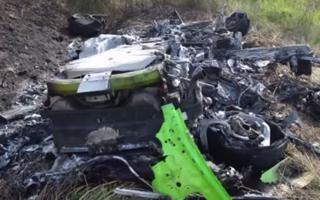Lamborghini accident