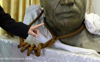 sfoara cu care a fost spanzurat Saddam Hussein
