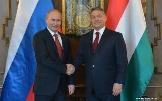 Vladimir Putin, Viktor Orban