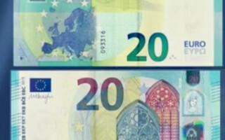 noua bancnota de 20 de euro
