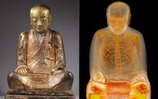 Mumie calugar budist