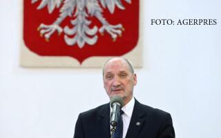 Antoni Macierewicz, ministrul Apararii din Polonia