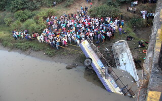 accident India, 41 de morti