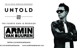 Armin Van Buuren revine pe scena celui mai bun festival din Europa, UNTOLD!